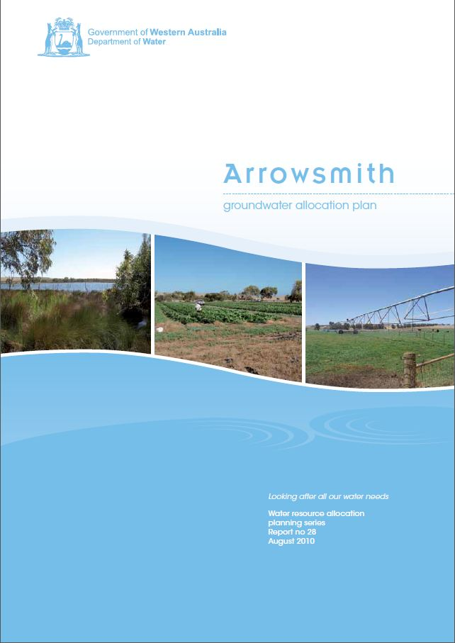 Arrowsmith plan cover