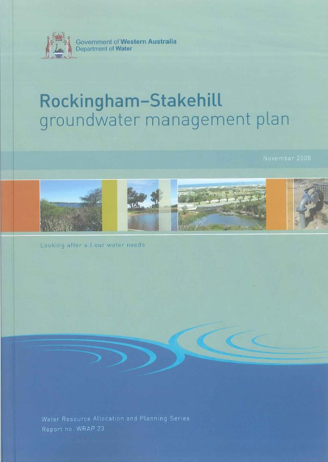 Rockingham-Stakehill plan cover