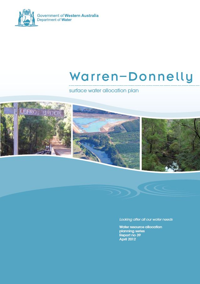 Warren-Donnelly plan cover