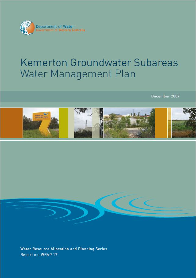 Kemerton plan cover