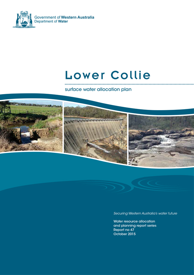 Lower Collie plan cover
