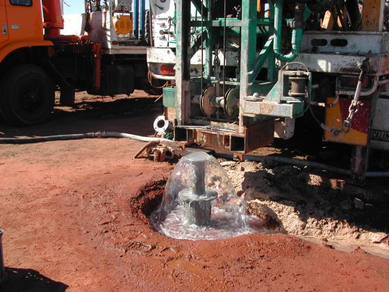 Developing and testing a new artesian well