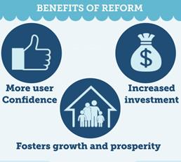 Benefits of reform