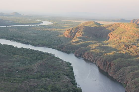 Ord River in the North West Region