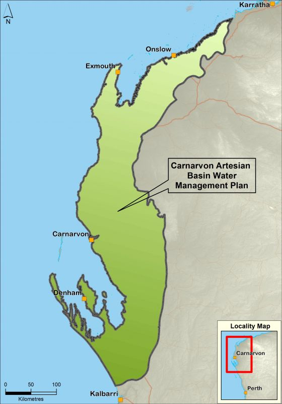 Carnarvon Artesian Basin water management plan area