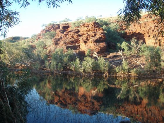 The Lower Fortescue River in the Pilbara