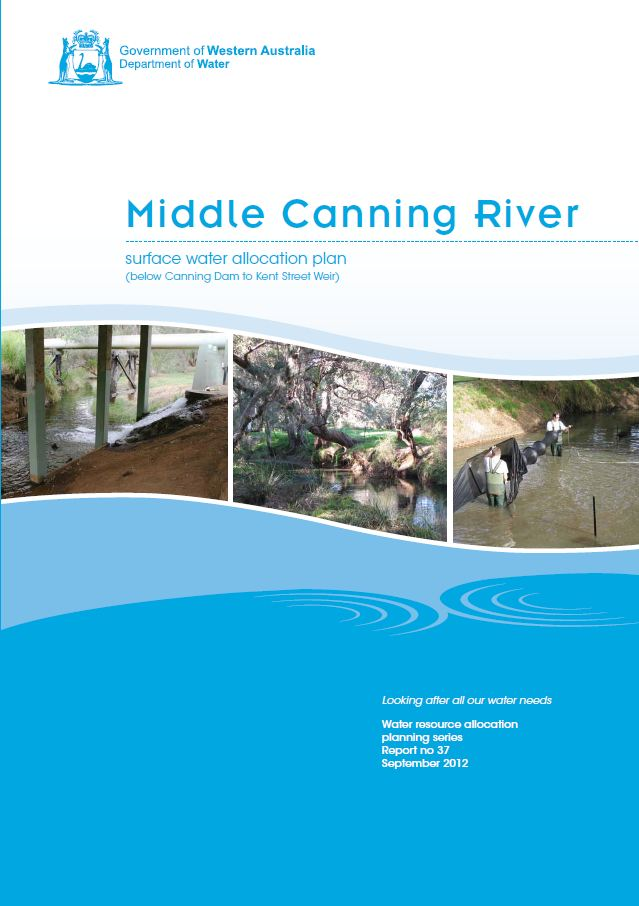 Middle Canning plan cover